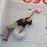 Tom Wanner bei einem schwierigen Top