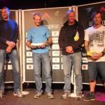 Die Liga der außergewöhnlichen Gentlemen: vlnr. Christian Lott (5.), Markus Eberl (1.), Hangl Bernhard (4.), Enrico Leupold (3.)