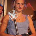 """Die """"alte"""" und """"neue"""" Highlive Boulderprinzessin 2012: Julia Pinggera"""