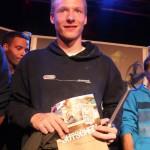 Der glückliche Highlive Boulderprinz 2012: Elias Weiler
