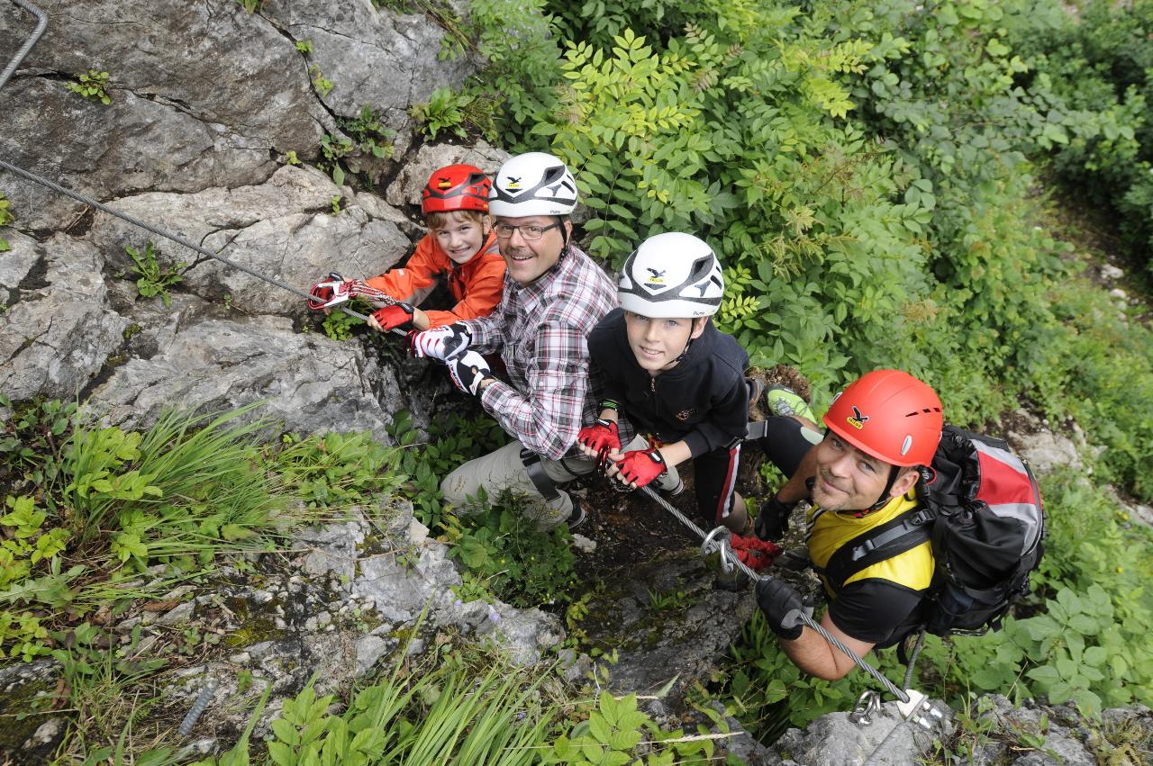 Hindelanger Klettersteig Unfall