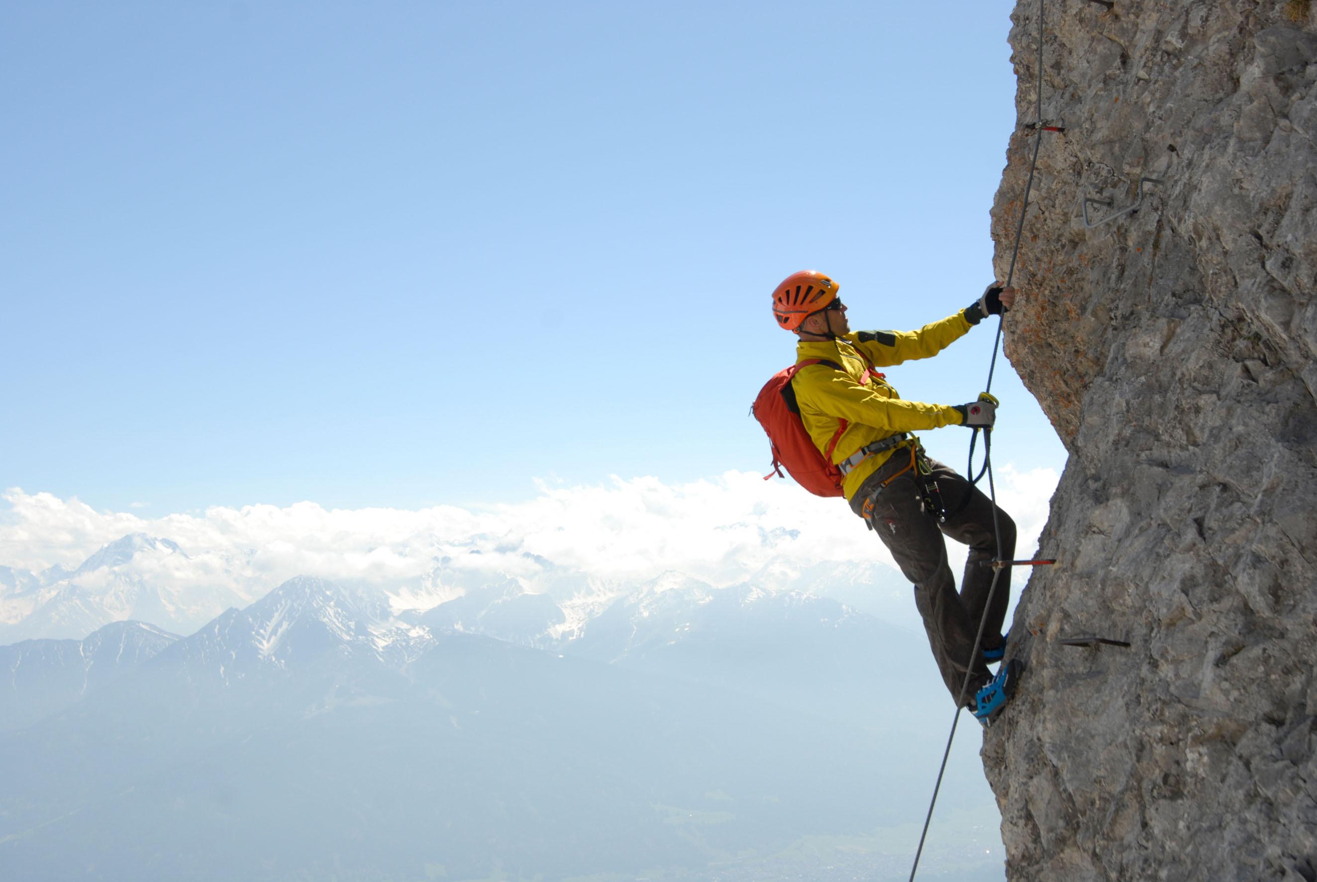 Klettergurt Klettersteigset : Klettersteige: wichtige hinweise des österreichischen alpenvereins