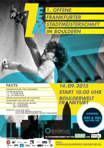 Frankfurt Boulder Meisterschaft