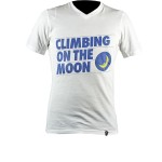 Climbing On The Moon T-Shirt M white (H07WH)