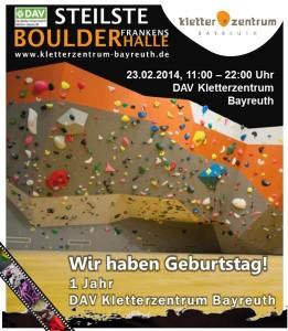 Poster DAV KLZ Bayreuth