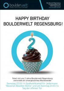 BW REg. Geburtstag Poster