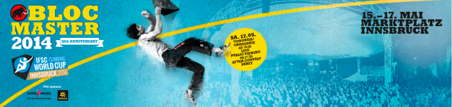 IFSC Boulder Worldcup Innsbruck 2014