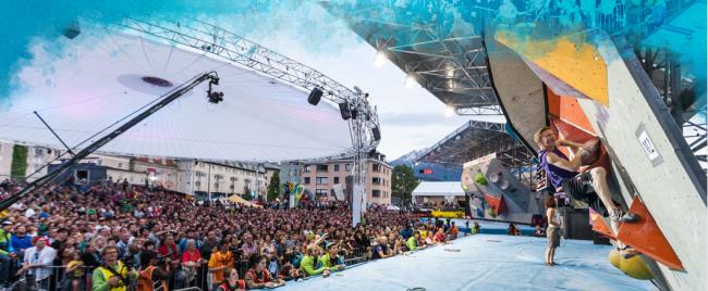 IFSC Boulder Worldcup Innsbruck 2014 Teaser