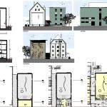 Bauplan Neue und Alte Kletterhalle DAV Freising