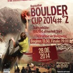 Bayreuther Bouldercup 2014 Poster