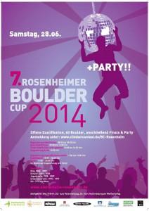 Bouldercup Rosenheim 2014