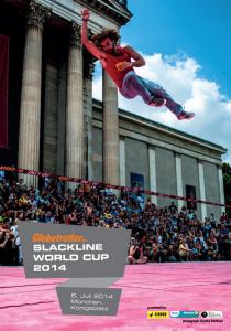 Gibbon slackline Worldcup