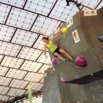 Boulderweltcup in München – Jule Wurm im Finale