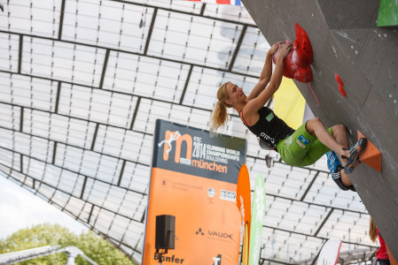 2014 IFSC Climbing World Championships Bouldering – Day 2 – Womens Qualifications