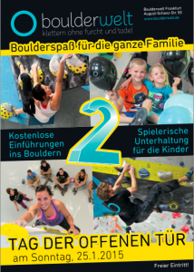 Boulderwelt Frankfurt Poster
