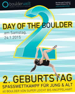 Day of the Boulder - Boulderwelt Frankfurt