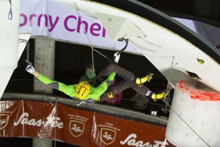 ICE CLIMBING WORLD CUP 2014 SAAS-FEE