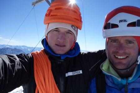 Michi Wohlleben und Joachim Feger begehen Optimist (M6) 7