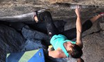 Daniel Woods, Alex Puccio und Chris Webb Parsons bouldern in Boulder (Colorado)
