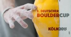 2. Deutscher Bouldercup 2015 – Finale -