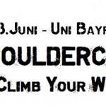 ADH Open Bouldercup Bayreuth 2015 poster