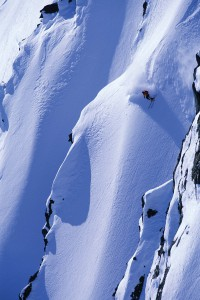 Doug Coombs skiing in Valdez, Alaska
