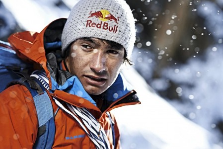 David Lama poses for a portrait in the Otztal, Tyrol, Austria on December 1st 2013 // Manuel Ferrigato / Red Bull Content Pool // P-20140107-00031 // Usage for editorial use only // Please go to www.redbullcontentpool.com for further information. //