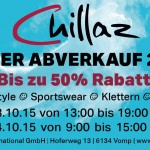 Chillaz Lagerverkauf 2015