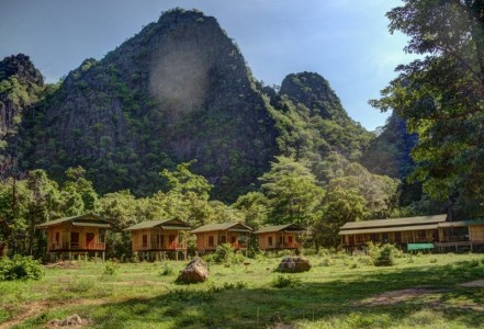 Green Climbers Home Laos