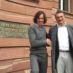 Stefan Glowacz und Dr. Martin Cepek Dr. Martin Cepek - Leiter des Stabs Zentrale Museumsentwicklung der SGN