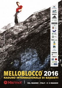 Melloblocco 2016_Poster