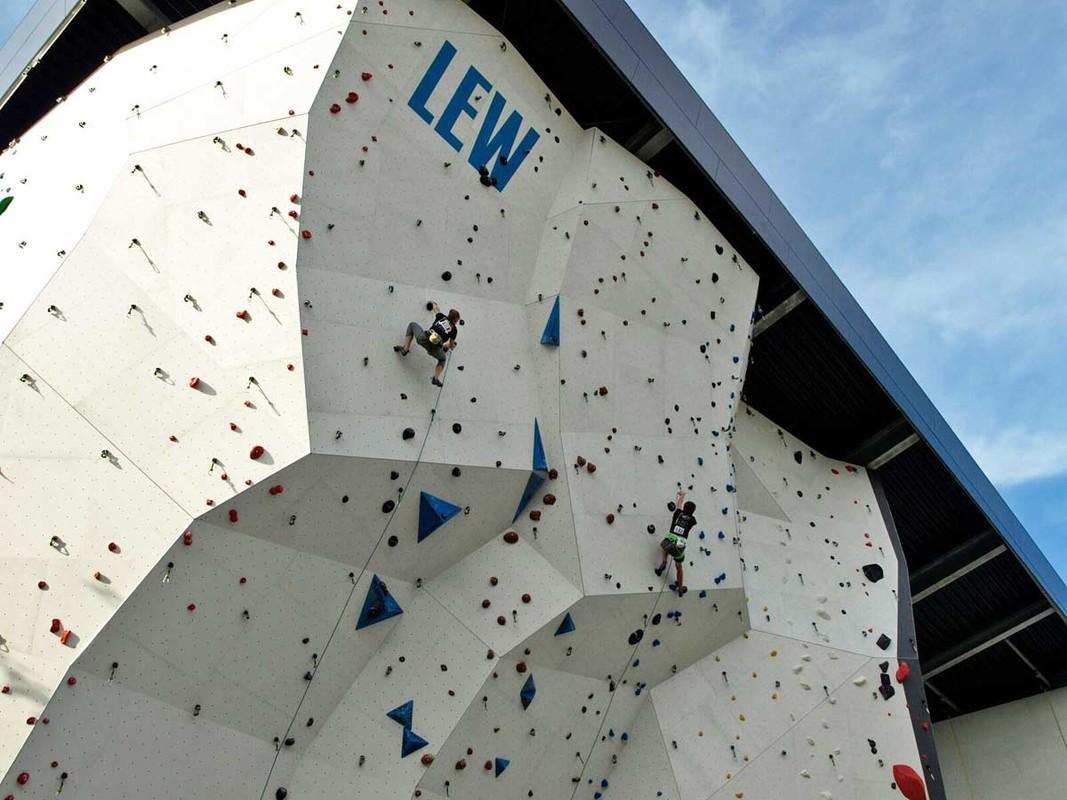 DAv Kletterhalle Augsburg Kletterszene