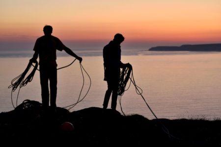 Peter Würth, Alex Luger, Ray Demsky Trad Klettern