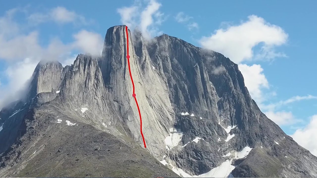 War and Poetry |Big wall climbing in Greenland [Video]