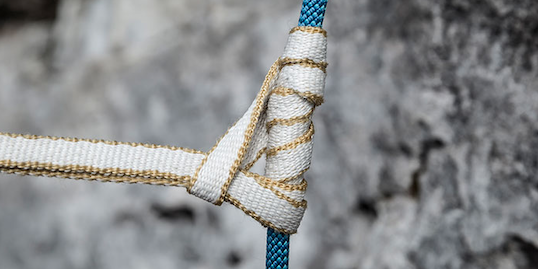 Wichtige Knoten Klettern