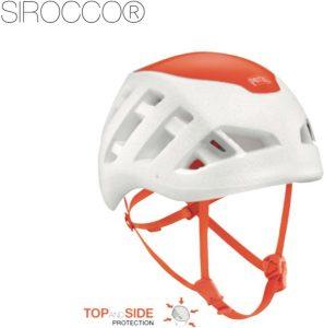 SIROCCO-Helm mit einem Gewicht von nur 170 g ist für Anwender konzipiert, die beim Skibergsteigen Wert auf maximale Gewichtseinsparung legen.