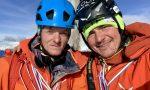 """Simon Gietl & Mark Oberlechner eröffnen Mixed-Tour """"Kalipe"""" an der Peitlerkofel Nordwand"""