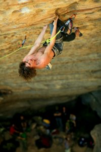 Dave Graham at Petzl RocTrip - Red River Gorge