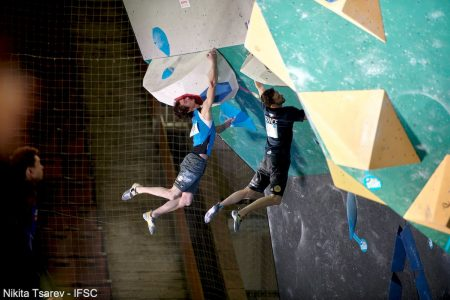 #IFSCwc Moscow 2019 Boulder Semi-Finals © IFSC/Eddie Fowke
