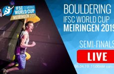 IFSC Boulder World Cup Meiringen – Finals – Livestream