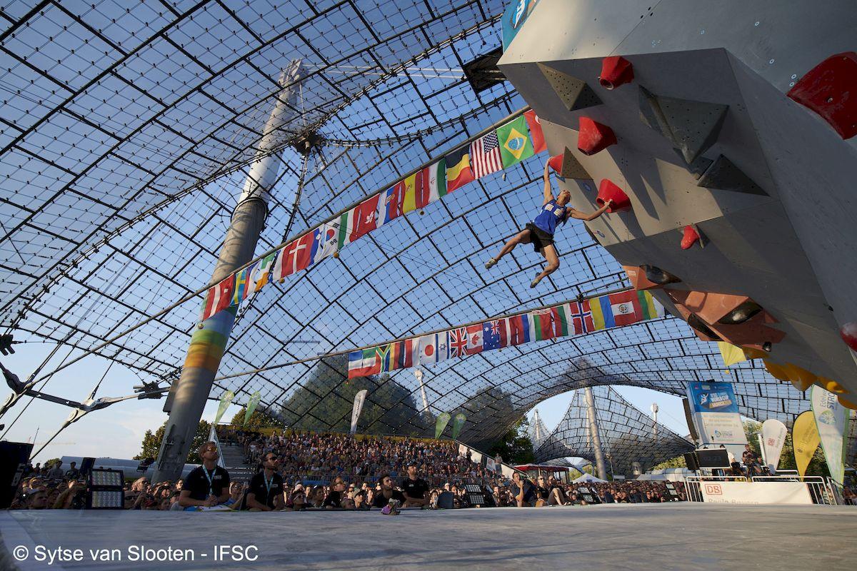 #IFSCwc Munich 2018