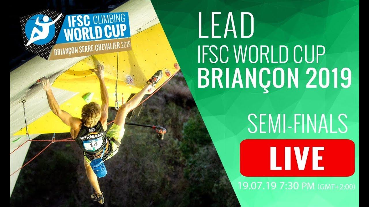 IFSC Lead World Cup in Briançon 2019 - Semi Finals [Livestream]