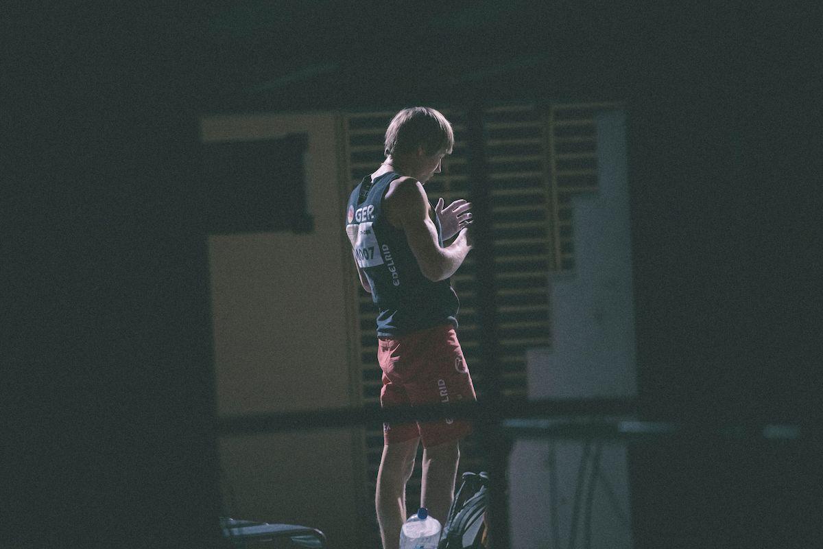 Alex Megos Kletterweltmeisterschaft 2019 Foto: Suguru Saito / Red Bull Content Pool