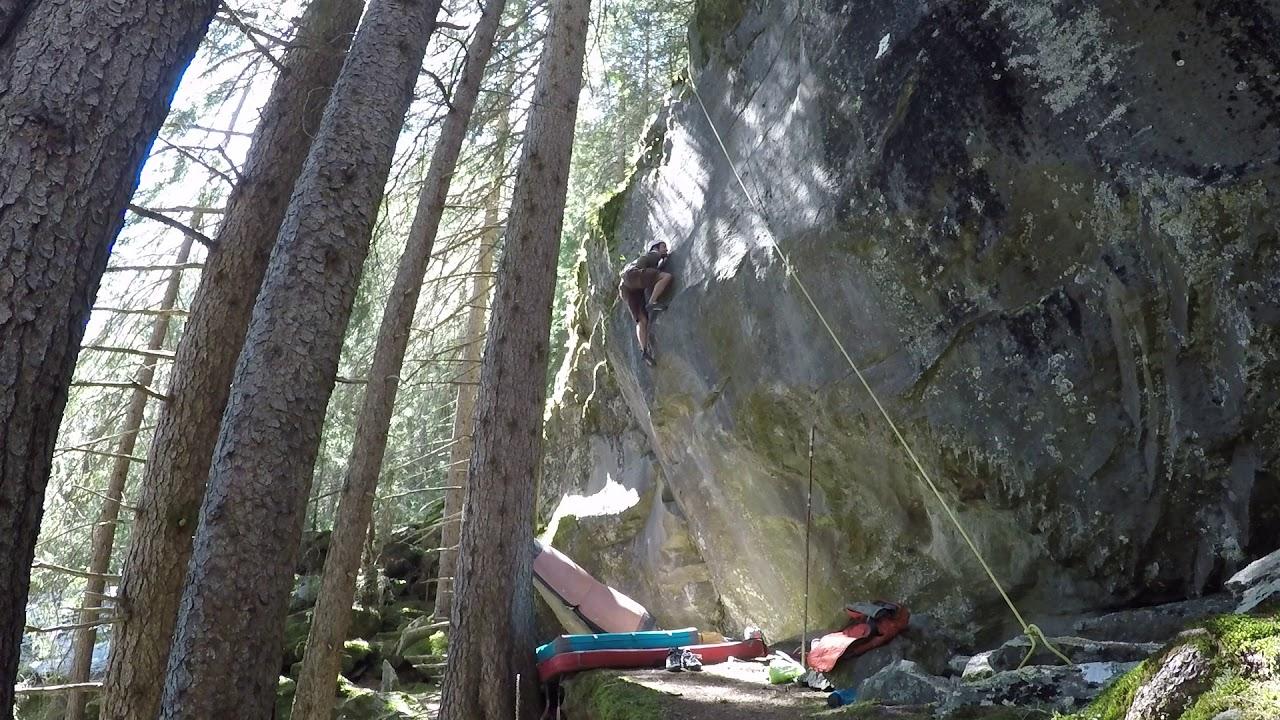 Klettern Bouldern Avers