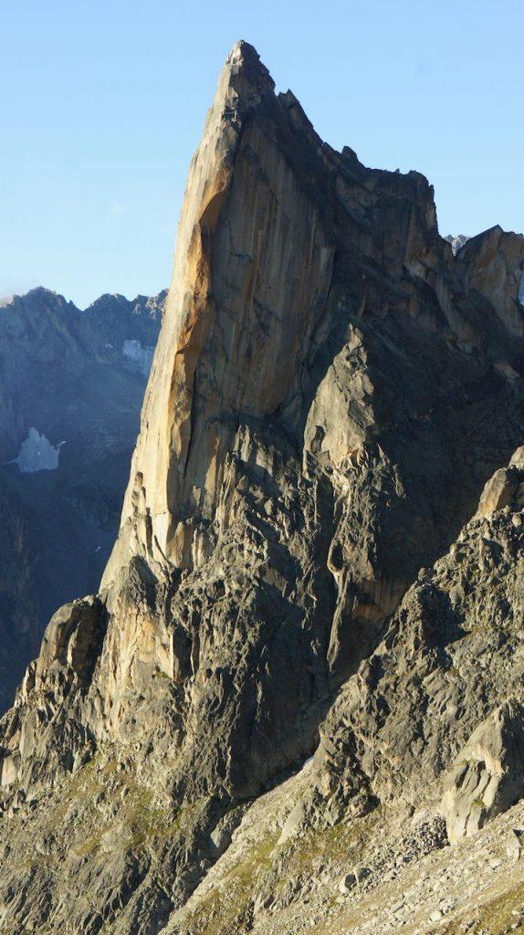 Klettern am Petit Clocher du Portalet