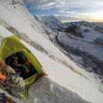 Winterbiwak - Kletterszene