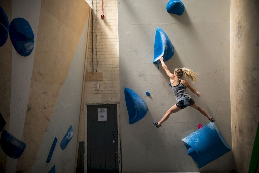 shauna coxsey - Bouldern - Interview- Red Bull