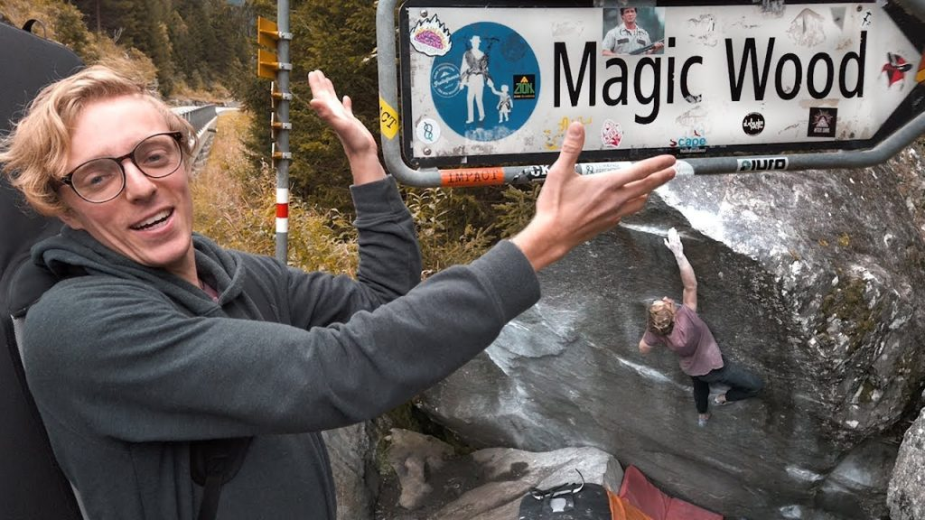 Bouldervideo_ Magic Wodd_ Avers_Schweiz