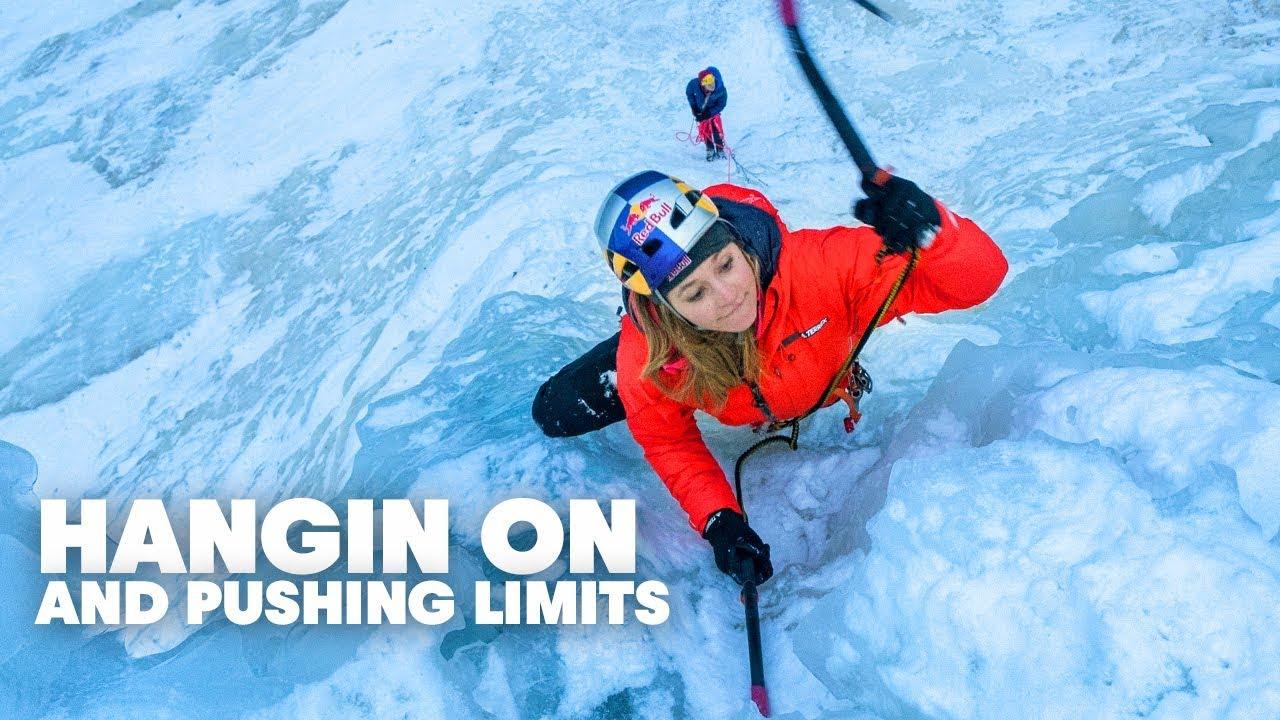Sasha DiGiulian Eisklettern -kletterszene - Red Bull