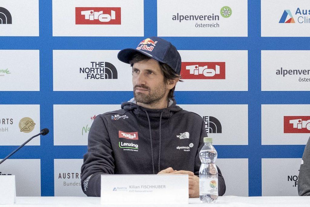 Kletterverband Österreich Kilian Fischhuber Nationaltrainer
